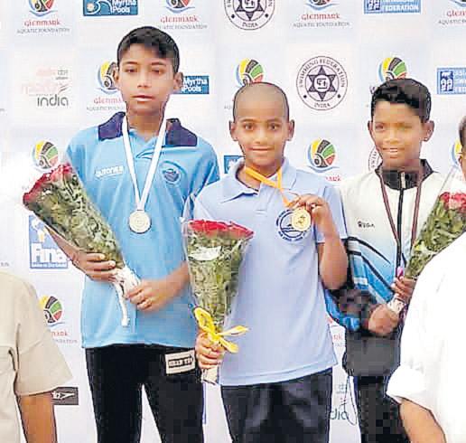 Two medals for AP Swimmer - Sakshi
