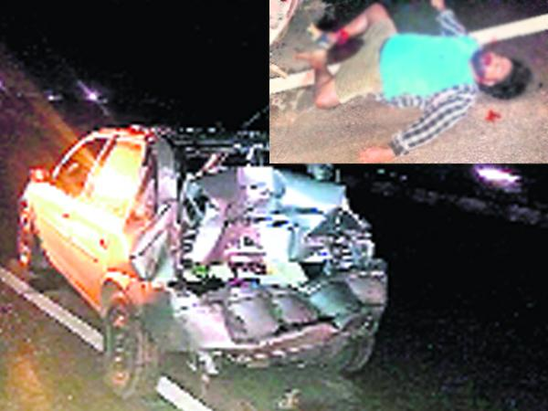 Junior Artist Died In Road Accident At Nellore district - Sakshi