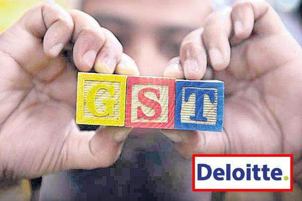Chief financial officers believe GST had positive impact on overall business: Deloitte survey - Sakshi