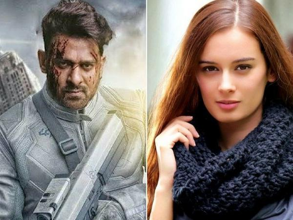 Evelyn Sharma Reveals Prabhass Working Style On Saaho Sets - Sakshi