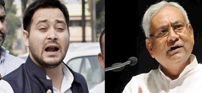 Tejashwi Yadav Says Doors of Grand Alliance Closed For Nithish Kumar - Sakshi