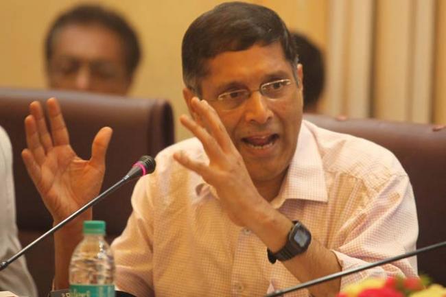 Big Demand! Scrap 28% GST, Says Arvind Subramanian - Sakshi
