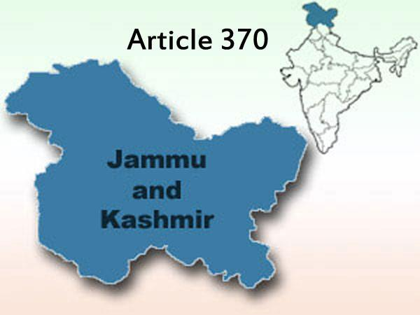 Is Article 370 Required For Jammu And Kashmir - Sakshi