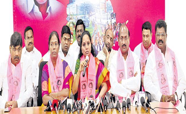 TRS Leaders Complaint Against D Srinivas In Telangana - Sakshi