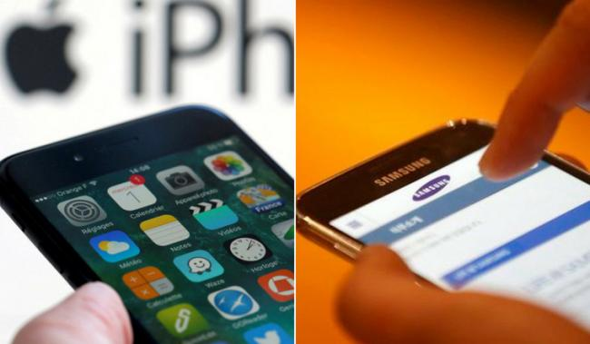 Apple, Samsung Settle 7-Year Patent Battle Over iPhone Design - Sakshi