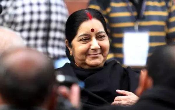 Sushma Swaraj Passport Seva Mobile App A Big Hit - Sakshi