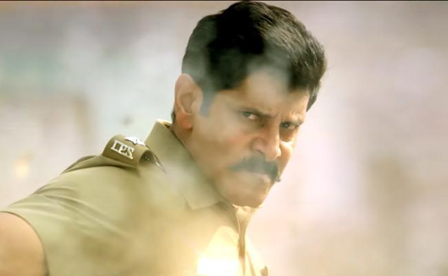 Vikram Saamy Square Trailer - Sakshi