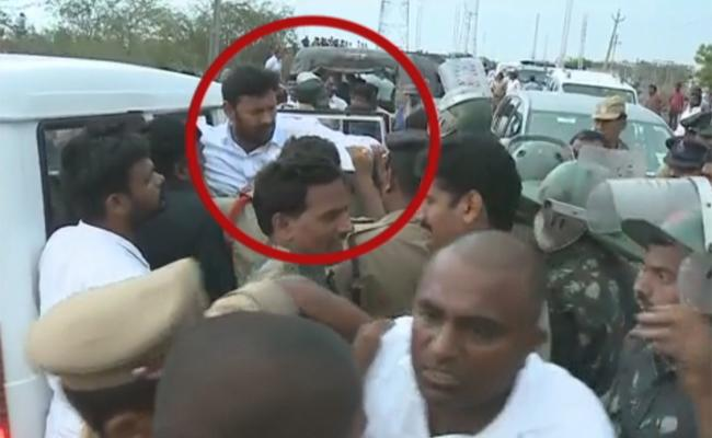 High Tension In Jammalamadugu YCP Mp Avinash Reddy Arrested - Sakshi
