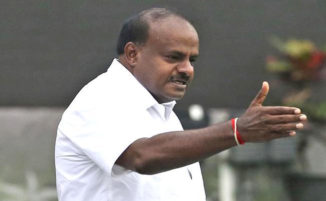 I will be Karnataka chief minister for 5 years, says HD Kumaraswamy - Sakshi