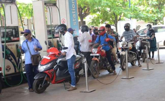 Petrol, diesel prices cut by 9 paise - Sakshi