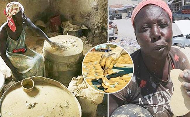 Haitian People Taking Mud Cakes As Food - Sakshi