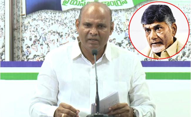 YSRCP Leader parthasarathy comments On Chandrababu Naidu - Sakshi