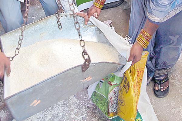 Ration dealers ready to Indefinite hunger strike  - Sakshi