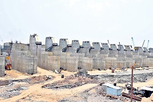 Rain threat to Kaleshwaram project work! - Sakshi