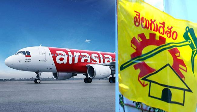 Chandrababu Name In AirAsia Scam Worry In TDP - Sakshi