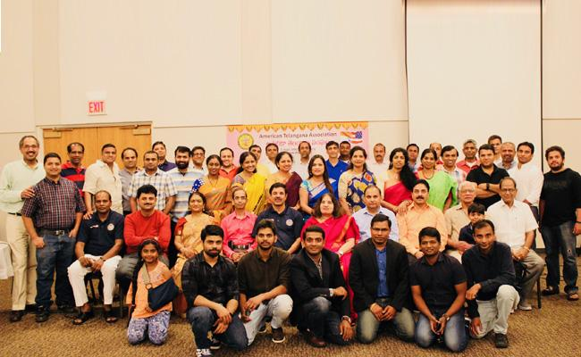 Telangana State Formation Day Celebrated NRIs In Chicago - Sakshi
