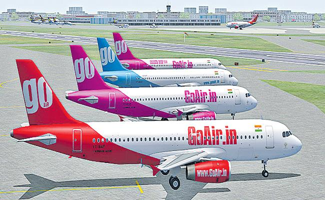 GoAir offers fares starting Rs 1299 for domestic travel - Sakshi