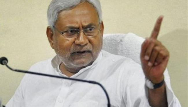 Nitish Kumar Refuses To Talk About NDA Face In Bihar - Sakshi