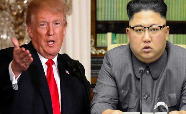 Trump And Kim Wouled Meet On June 12th In Singapore - Sakshi