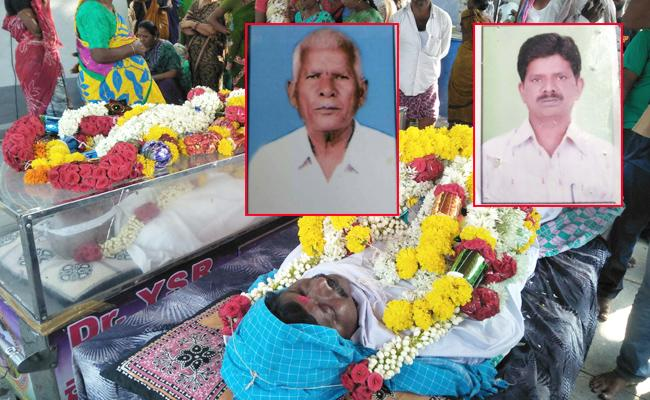 Fanther And Son Died Same Day In Anantapur - Sakshi