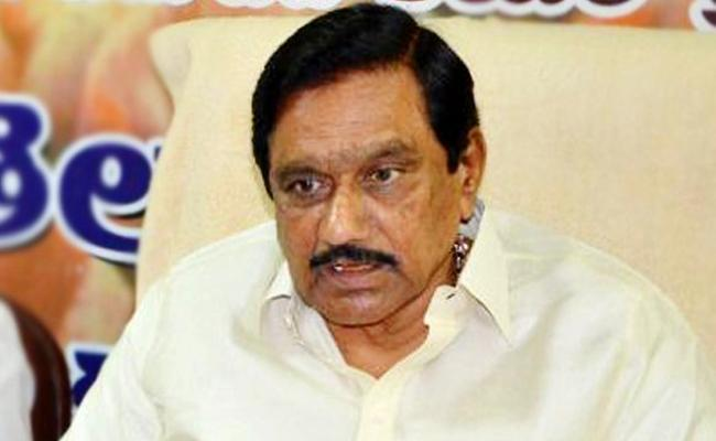 KE Krishnamurti Comments On TDP, Congress Alliance - Sakshi