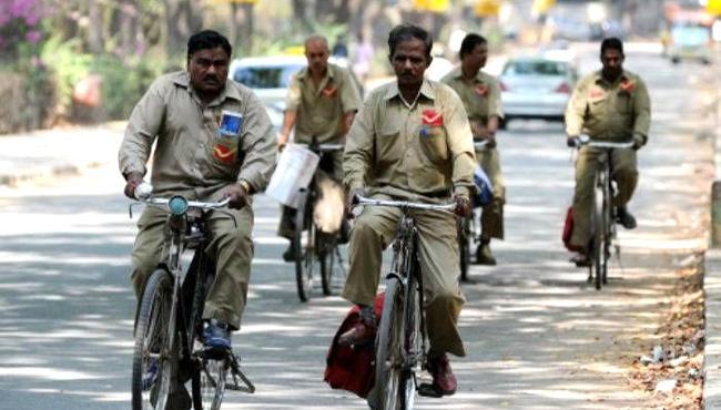 Govt hikes basic pay of Gramin Dak Sevaks to up to Rs 14,500 - Sakshi