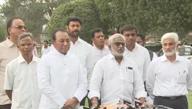 YSR Congress Party MPs Write Letter to Speak Once again - Sakshi