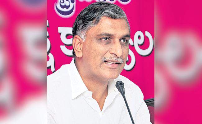 Minister Harish Rao Fires on Opposition Leaders - Sakshi