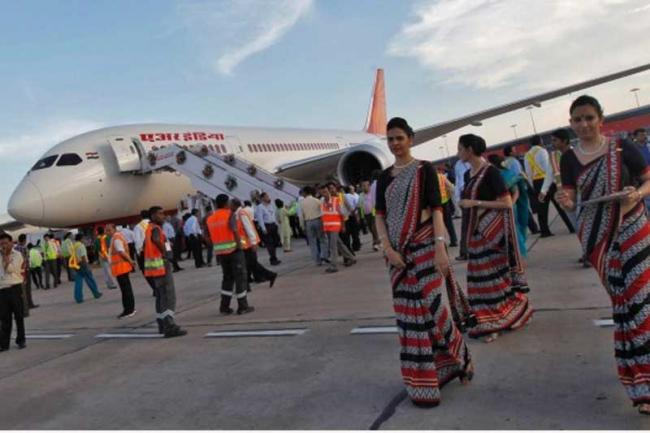 Air India Delays Salaries For Third Month In A Row - Sakshi