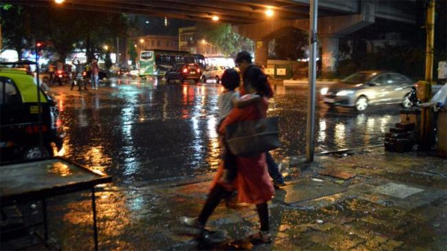 Mumbai Comes To A Halt Due To Heavy Rains - Sakshi