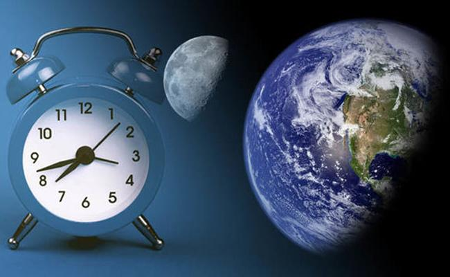 25 Hour Days Are Coming Thanks To The Moon - Sakshi