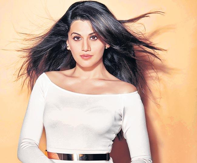 Taapsee Pannu aces action sequences for short film Nitishastra - Sakshi