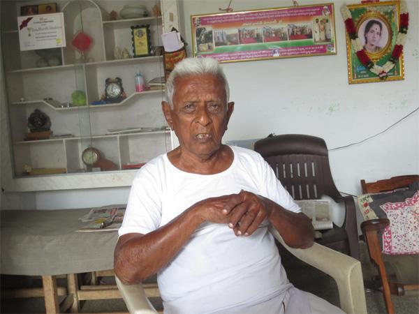 EX MLA TC Rajan Pension Difficulties - Sakshi