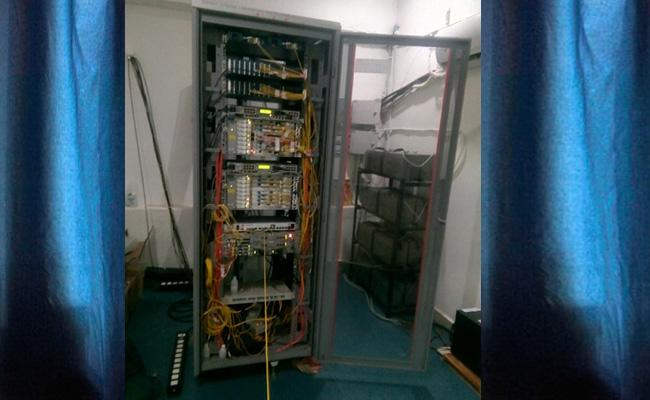 Fiber Grid Scheme Not Completed Perfectly In Vizianagaram - Sakshi