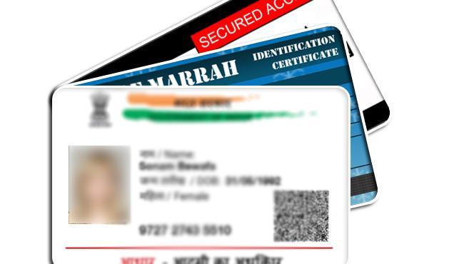 Man arrested by hyderabad police over creating fake IDs - Sakshi