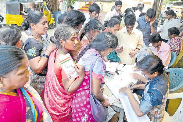 Government schemes survey shock - Sakshi