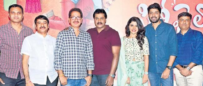 Silly Fellows first look launch - Sakshi