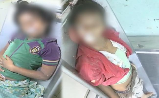 Father Suicide Attempt Along With Daughters In Chittoor - Sakshi