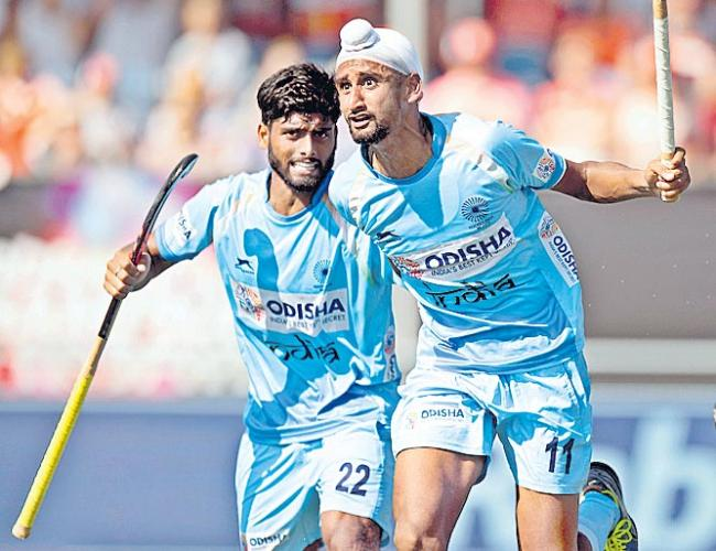 Champions Trophy Hockey Tournament india Final - Sakshi