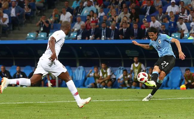 Uruguay Beat By Portugal 2-1 In Pre Quarters - Sakshi