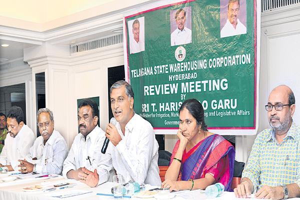 Minister Harish Rao comments on Giddangula Usage - Sakshi