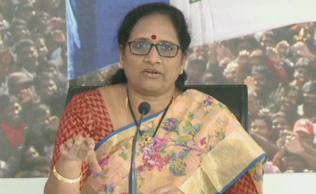YCP Leader Vasireddy Padma Fires On AP CM Chandrababu Naidu - Sakshi