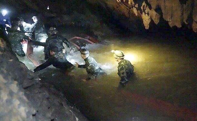Thai Rescue Operation Details - Sakshi