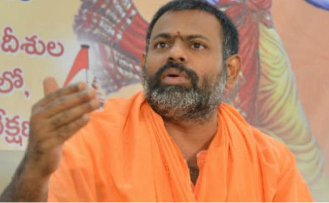 Swami Paripoornananda Files Lunch Motion Petition In High Court - Sakshi