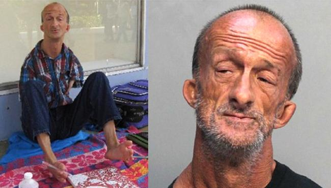 Florida Man With No Arms Arrested For Stabbing A Tourist - Sakshi
