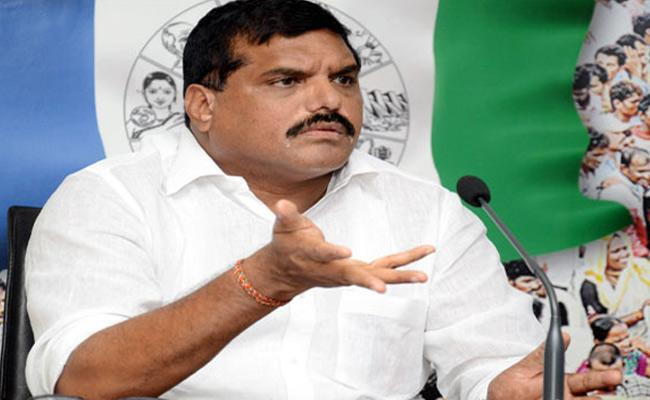 Botsa Satyanarayana Slams Chandrababu Over Polavaram Project Delay - Sakshi