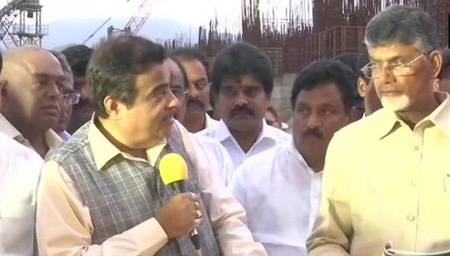 Central Minister Nitin Gadkari Questions AP Govt on Polavaram Project - Sakshi