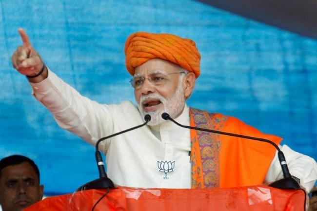 PM Narendra Modi Coming With A Masterplan For Loksabha Elections - Sakshi