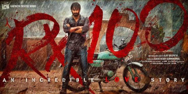 Rx 100 Telugu Movie Review - Sakshi