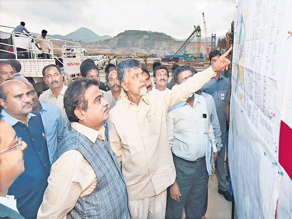 Nitin Gadkari clarification on Polavaram Project - Sakshi